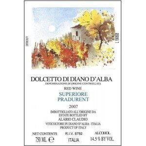 Alario Claudio Dolcetto di Diano d